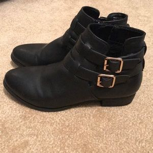 Call it Spring Black Ankle Boots.